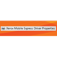 Xerox Mobile Express Driver
