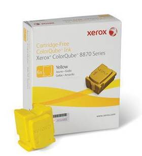 Kostki Xerox Solid Ink 6 yellow | 17300str | Phaser 8870